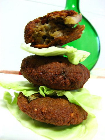 Green Papaya Peanut Croquettes