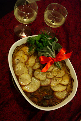 Potato-Topped Baked Ratatouille