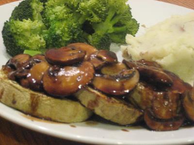 Eggplant Marsala
