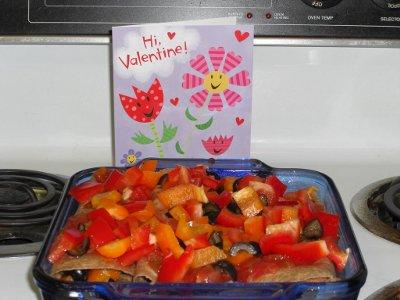 Valentine Surprise Burritos