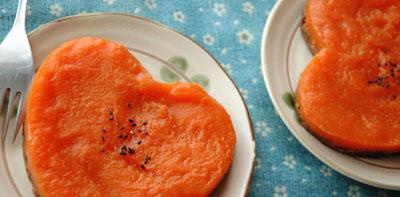 Carrot Yokan Pie