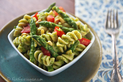 ... ? This Asparagus Pesto Pasta Salad is one of my most popular recipes