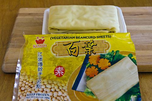 Vegetarian Beancurd Sheets