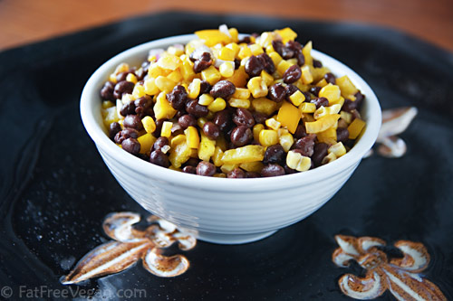 Saintly Black and Gold Salsa