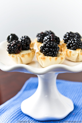 Blackberry Tarlets