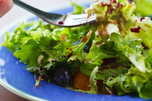 Fat-Free Blueberry Vinaigrette