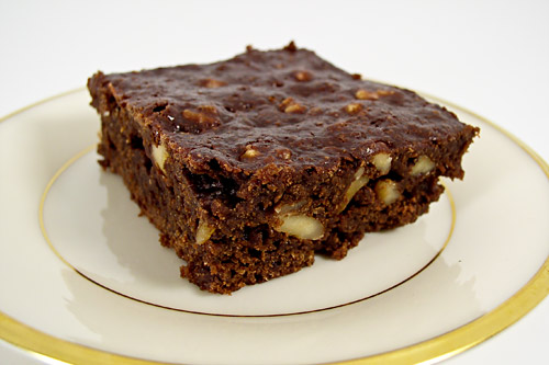 Sinfully Good Low-fat Brownie