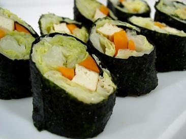 Cabbage Nori Rolls
