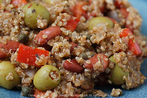 Caribbean Beans and Quinoa