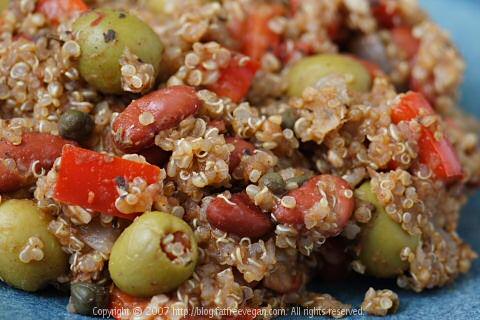 Caribbean Beans and Quinoa