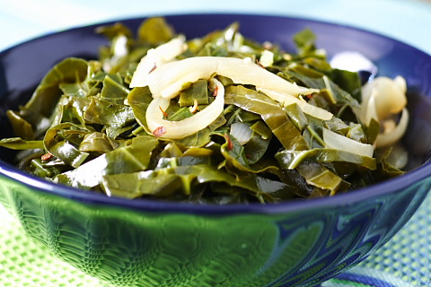 Super-fast Collard Greens