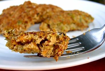 Okara Crab Cakes