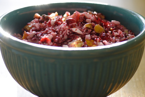 Brown Family Cranberry Relish