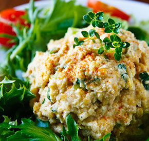 Creamy Chickpea Salad with Fresh Herbs