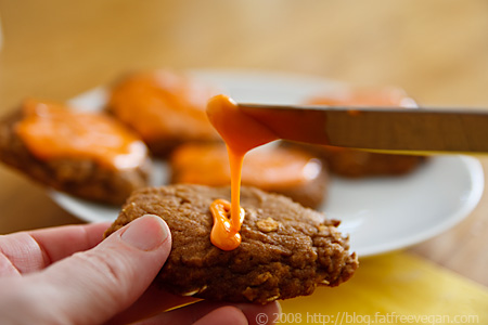 Fat-free Pumpkin Cookies