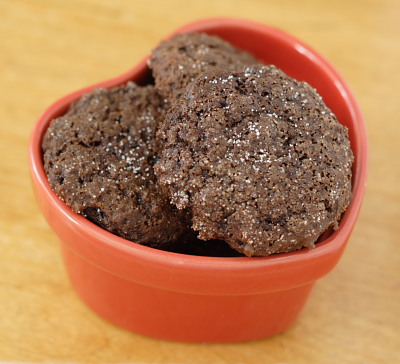 Fat-Free Balsamic Fudge Cookies