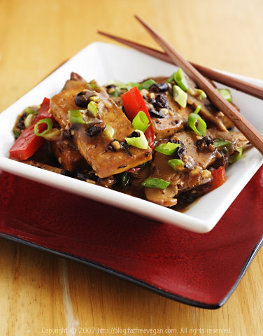 Home Style Tofu with Shiitake Mushrooms
