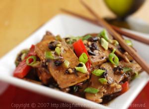 Home-Style Tofu and Shiitake Mushrooms