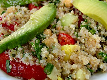 Yummy quinoa salad