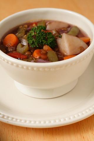 Italian Lentil and Vegetable Soup