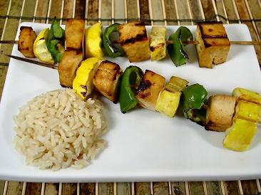 Teriyaki Tofu Kabobs