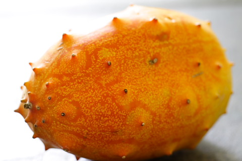 It's a kiwano!