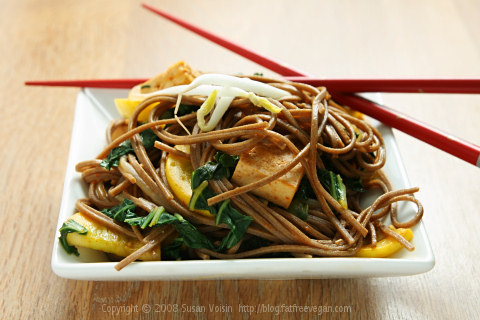 Korean Noodle Stirfry