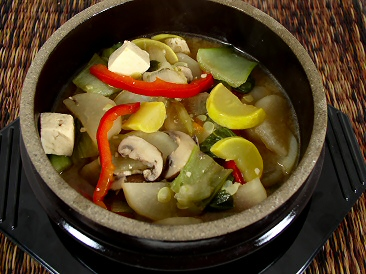 Korean Tofu and Vegetable Stew