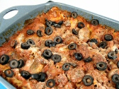 Easy Spinach and Mushroom Lasagna--E.'s Favorite!
