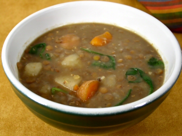 Rainy Day Lentil Soup