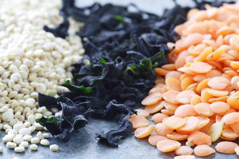 Lentils, Quinoa, and Wakame
