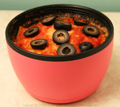 Ridiculously Easy Lunchbox Enchilada Casserole