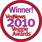 VegNews Readers' Favorite Blog 2010