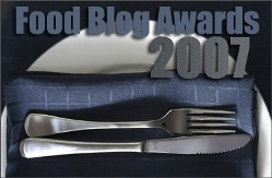 2007 Food Blog Awards
