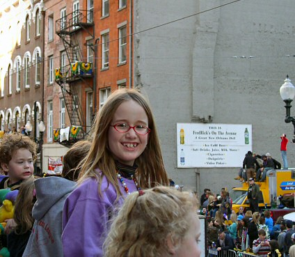 E at Mardi Gras