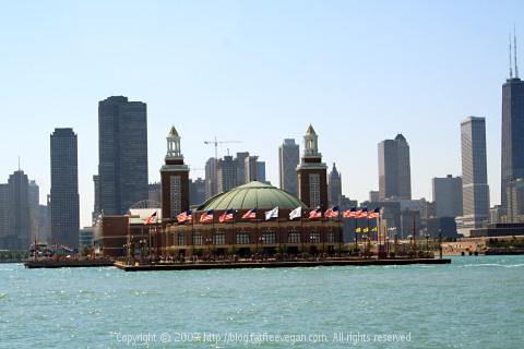 Chicago's Navy Pier Grand Ballroom on Chicago's Navy Pier