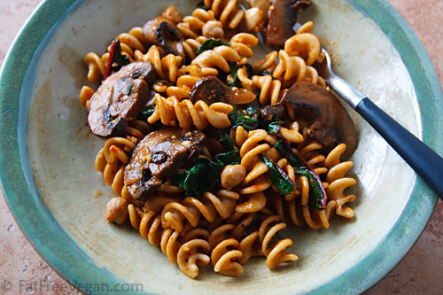 Recipes with chick peas and pasta