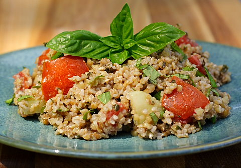 Bulgar Wheat Dish