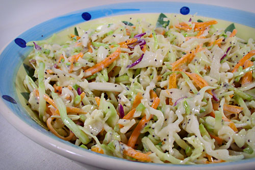 Coleslaw with Poppyseed Dressing