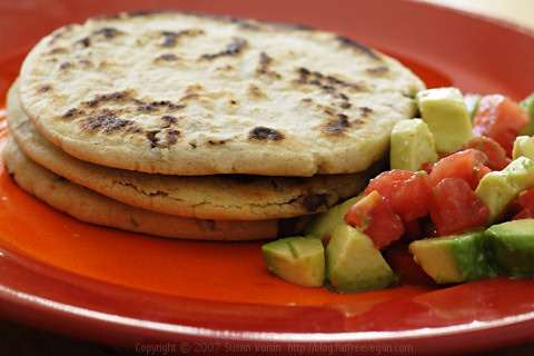 Black Bean Pupusas