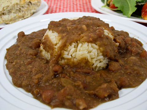 Real Louisiana Red Beans and Rice | recipe from FatFree Vegan Kitchen