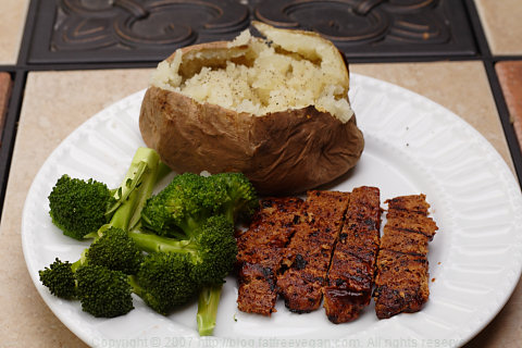 Barbecued Seitan Ribz
