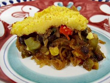 Sante Fe Spaghetti Squash Casserole