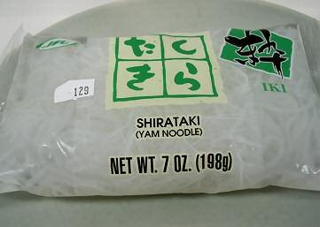 The Shirataki Noodles I Bought