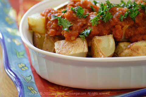 Spanish Potatoes