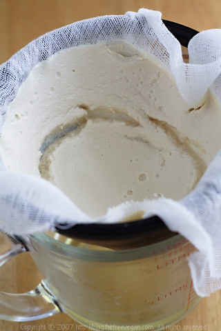 Making Greek-Style Soy Yogurt