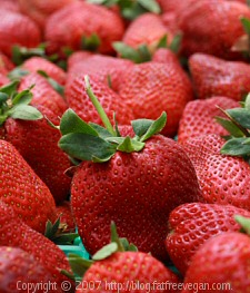 Strawberries by Fatfree Vegan Kitchen