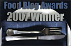 Winner 2007 Best Food Blog Theme