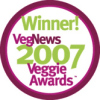 2007 Veggie Award-Favorite Veg Blog