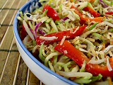 Bean Sprouts and Broccoli Slaw Salad
